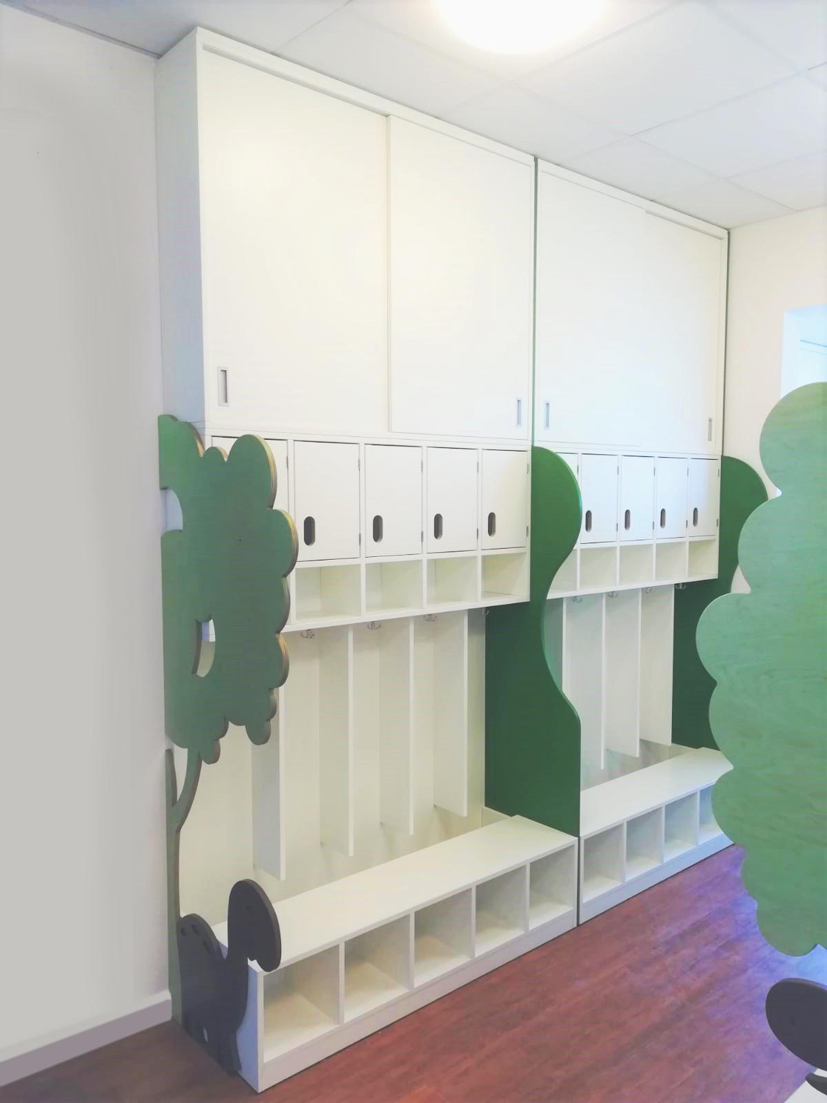 Kindergarten - Garderobe